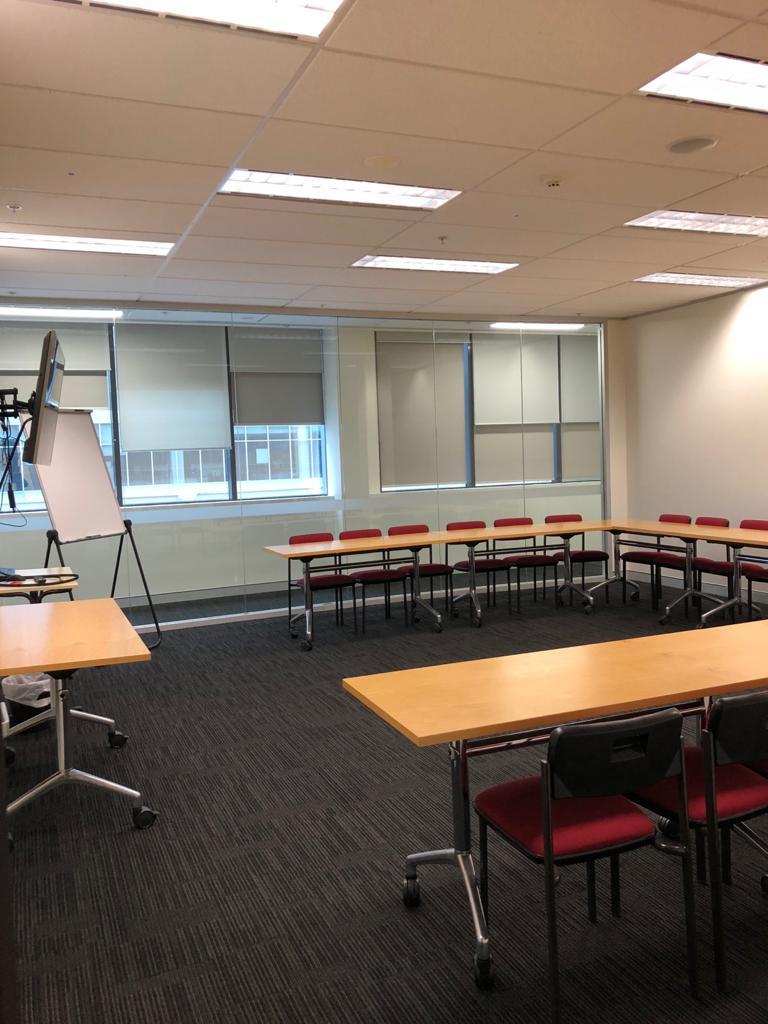 Vocational course classroom