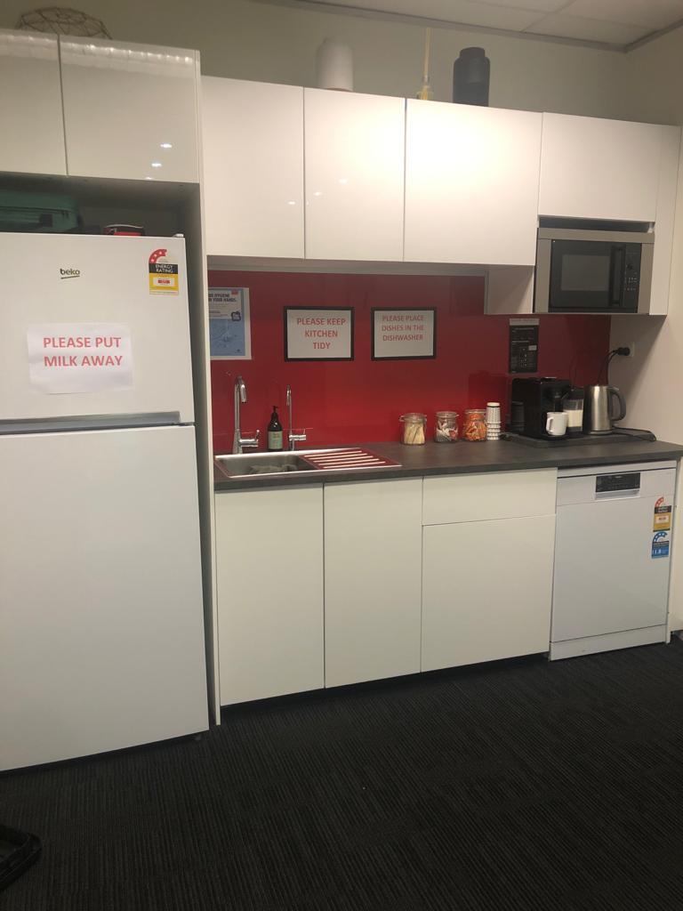Vocational school kitchen